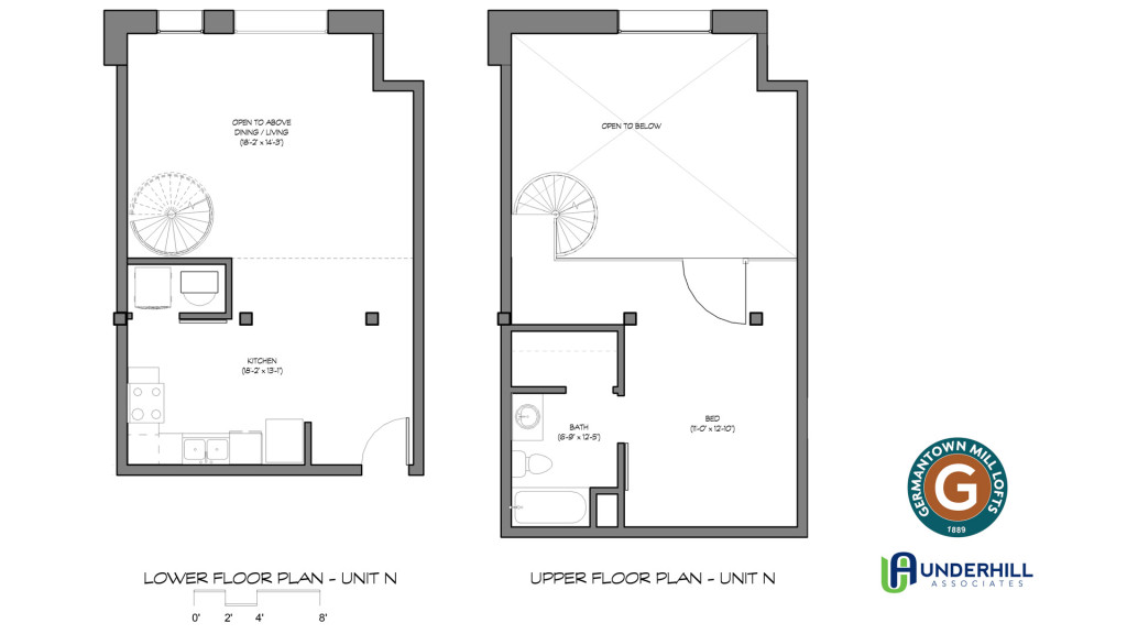 Warehouse apartment floor plans for Warehouse plans designs