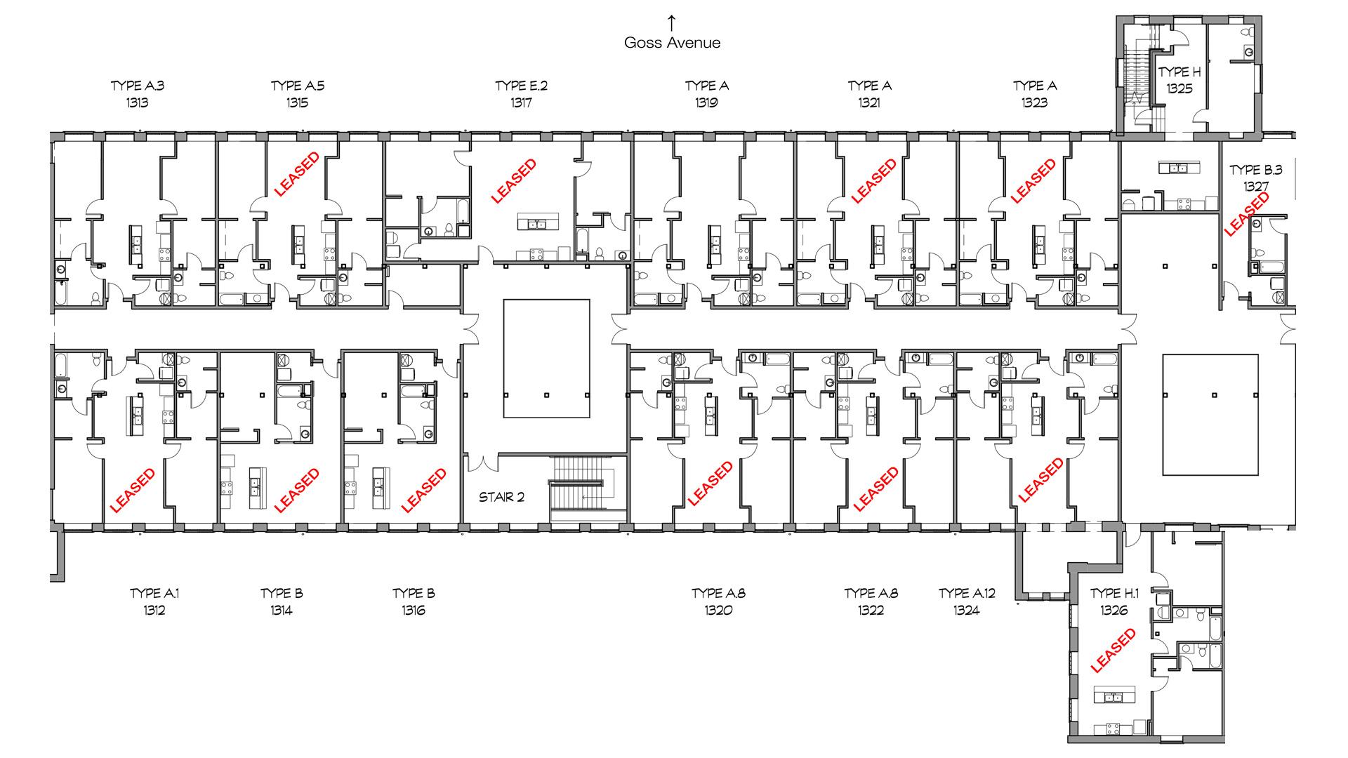 100 view floor plan amenitieswarehouse loft floor for 100 floors 3rd floor