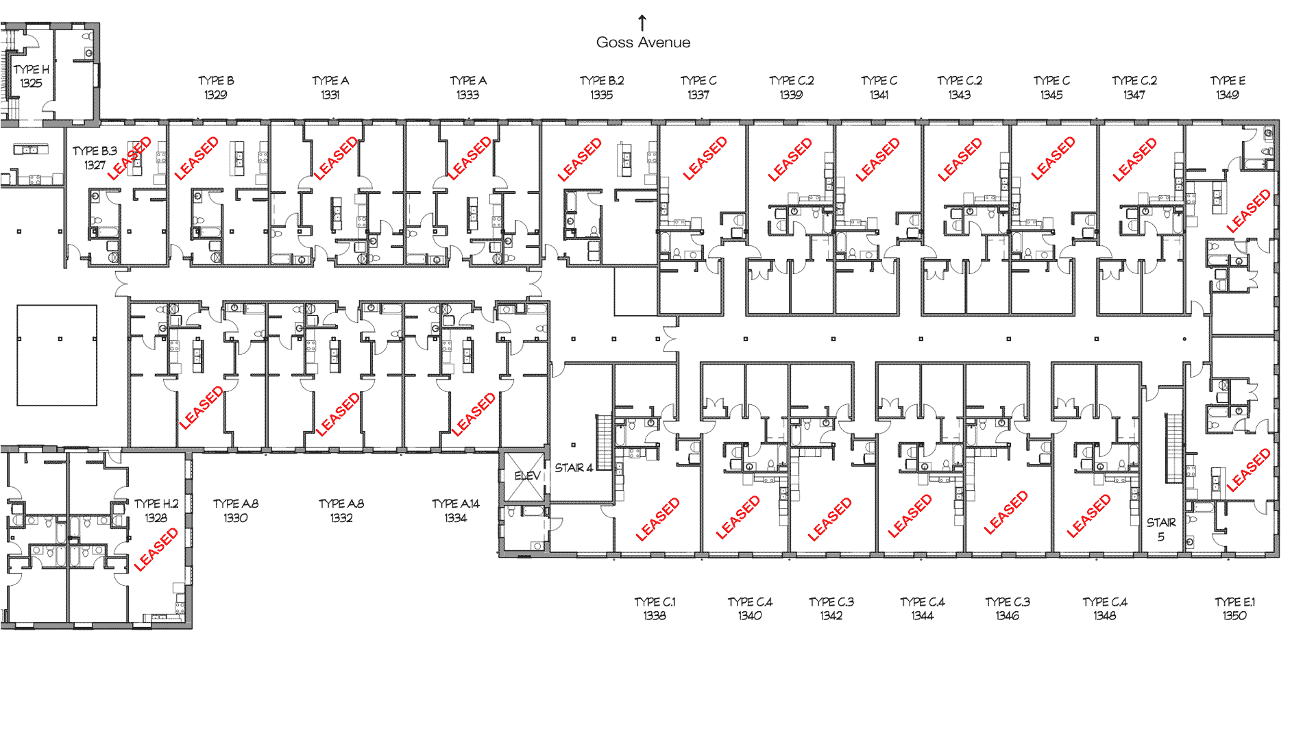 GML Mill Building | Phase 1 | Third Floor